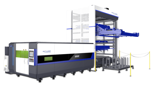 Han's Laser:  Single Machine Automation <br>ALU System for Single G3015 Laser