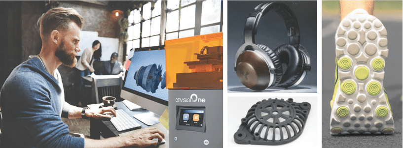2018 envision one mechanical - EnvisionTEC cDLM (Continuous Digital Light Manufacturing)