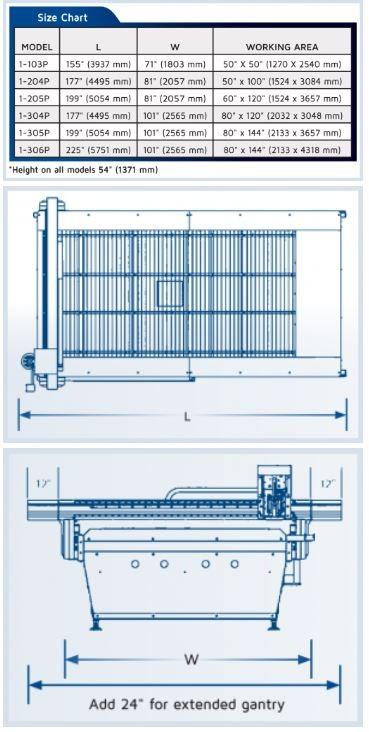 3000 specs - MultiCam 3000 Series CNC Plasma