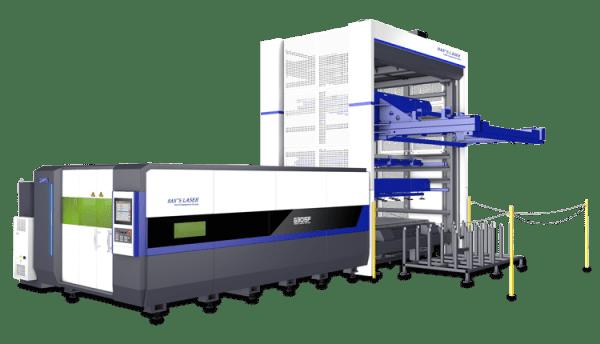 Han's Laser:  Single Machine Automation <br>ALU System for Single G3015 Laser