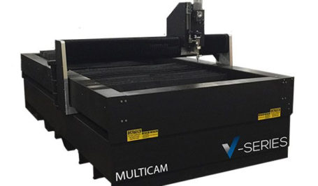 MultiCam V-Series CNC WaterJet