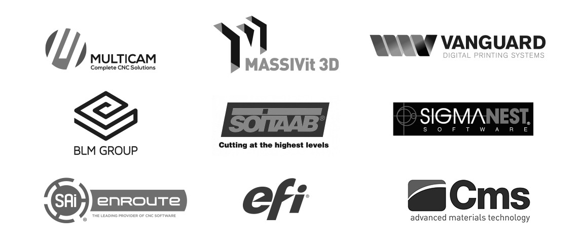 ACS Partner Brand LIne Up revise 2019 - 3D Large Format Printing