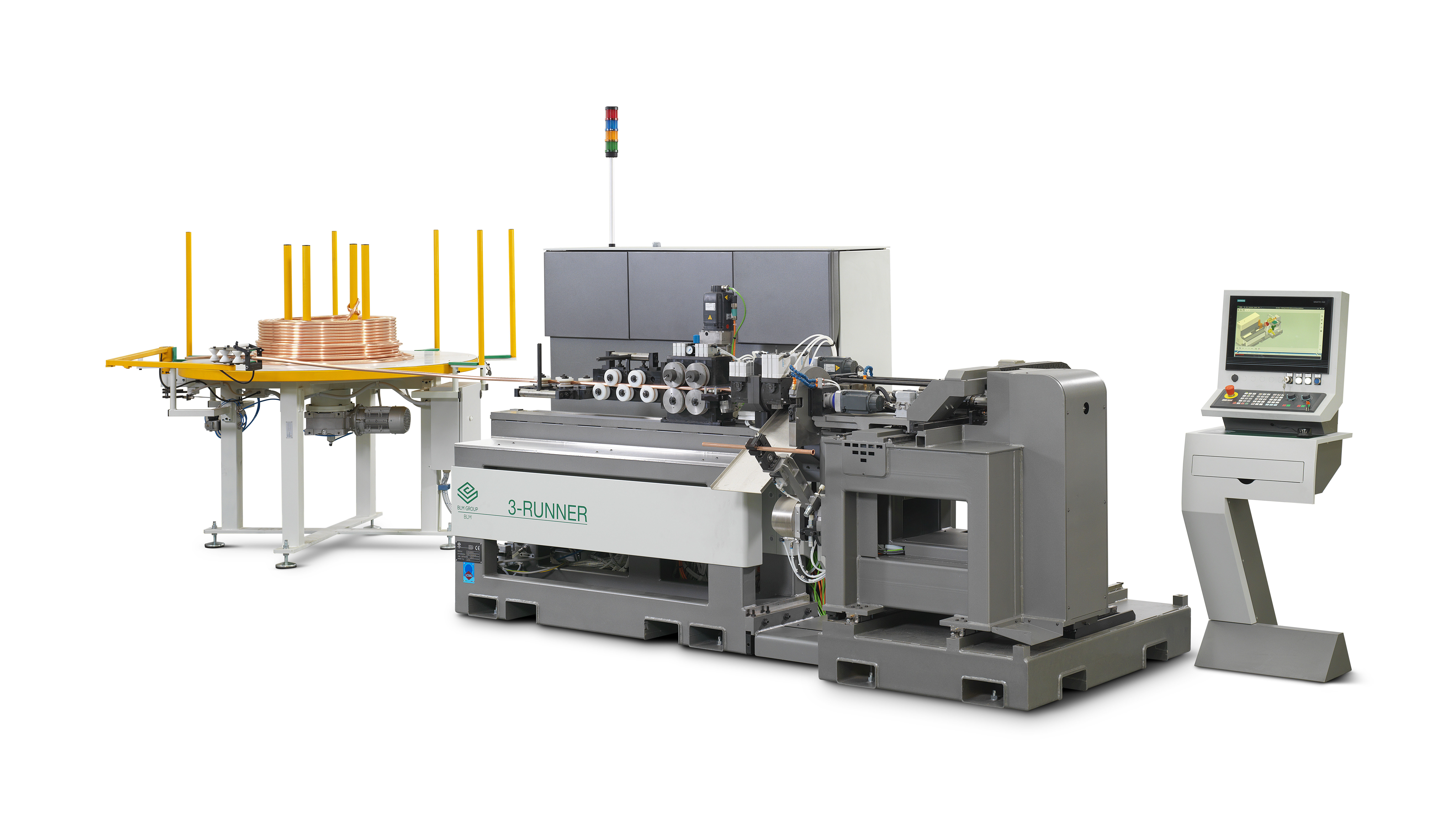 3-RUNNER ENDFORMING MACHINE
