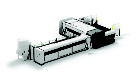 LC5 COMBO Tube and Sheet Laser cutting system – 2D