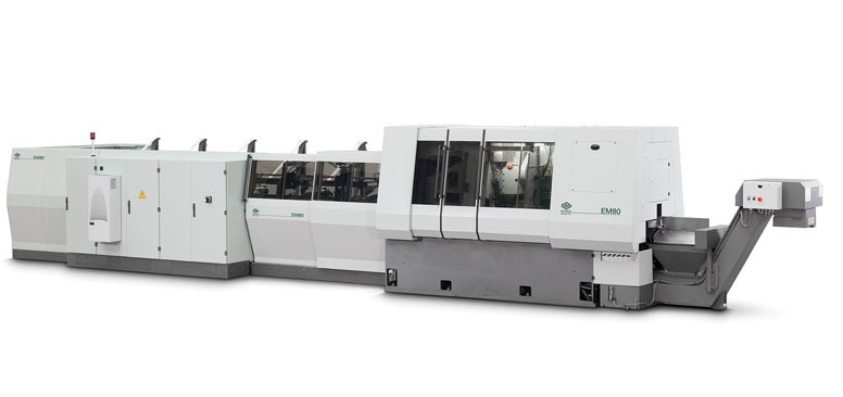 EM80 END-MACHINING SYSTEM